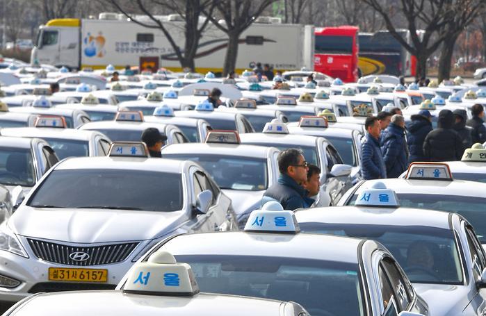 택시 미터기 교체 첫날