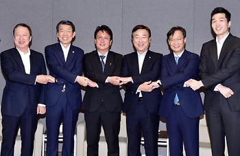 P2P 금융제정법 취지에 맞는 정책토론회 기념촬영