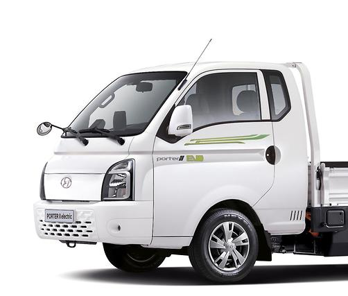 현대차, 전기차 소형트럭 '포터II 일렉트릭' 출시