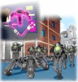 2050년 우리 군의 모습은? '두더지 로봇'이 진지 구축