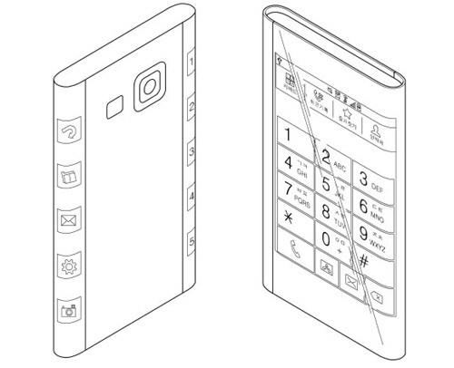 이것이 갤럭시노트4? 3화면 스마트폰 특허 포착