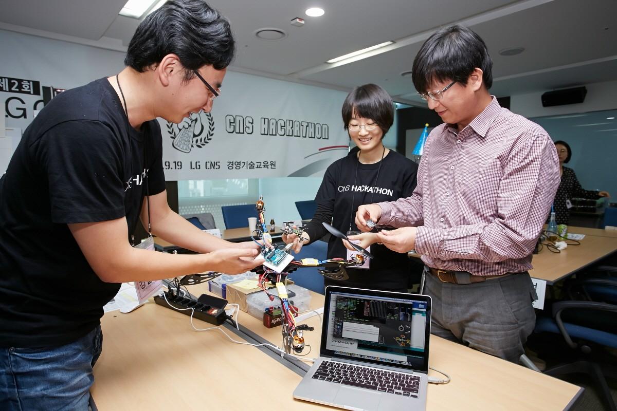 LG CNS, '해커톤'으로 미래 사업 발굴