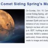 사이딩 스프링 혜성 화성 접근, 관심 ↑