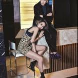 '레드카펫' 고준희-윤계상, 도발적인 커플화보 화제