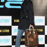 [포토] 김나영 '패셔니스타의 구멍 난(?) 가방'