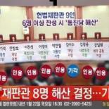 남들이 YES 할때 NO! 김이수 헌법재판관 해산 반대이유 보니..