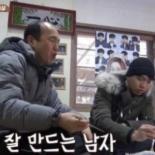 """'삼시세끼' 김광규표 파절이 무침 완성 """"입에서 살벌하게 냄새날듯"""" 폭소"""