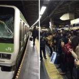日 지하철 투신자살 현장서 인증샷 찍기 바쁜 사람들