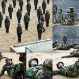'진짜사나이' 여군특집2 이지애-박하선-강예원 등 '공포의 PT훈련'