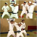'런닝맨' 유재석-하하, EXID '위 아래' 댄스도전 '포복절도'