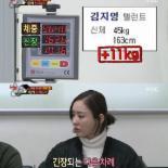 """진짜사나이 여군특집2 김지영 몸무게에 김용림 """"다이어트 좀 하자"""""""