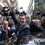 """그리스 총선, 시리자 승리…""""전 유럽이 안도"""""""