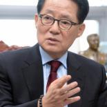 """박지원 """"난 준비되고 검증된 킹메이커, 노련한 여당 맞상대할 적임자"""""""