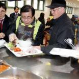 농협중앙회, '삼겹살 데이' 맞아 돼지고기 나눔행사