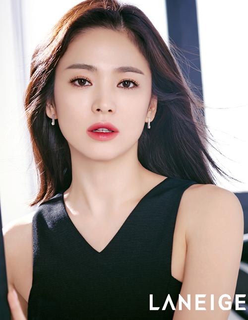 송혜교 키스 부르는 달콤한 립 제품 어디꺼 파이낸셜뉴스
