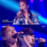 '나는 가수다3' 제시, 휘성 지원 사격…강렬 랩핑