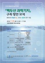 국가과학기술연구회(NST), 백두산 과학기지 구축을 위한 포럼 개최