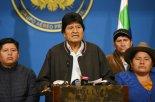 모랄레스 볼리비아 대통령 불명예 퇴진… 14년 좌파정권 끝나