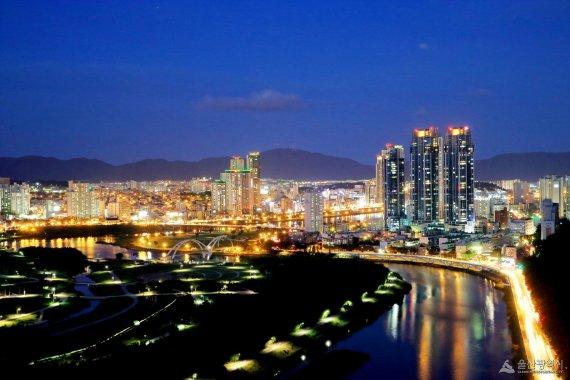 울산 제일 비싼 땅 ㎡당 1280만 원