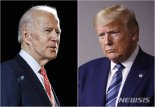 조 바이든 여론조사에서 트럼프 10% 차이로 앞서