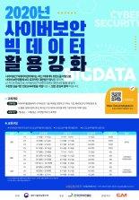 인터넷진흥원 사이버보안 빅데이터 전문교육 개설