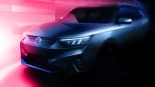 쌍용차 첫 SUV 전기차 'E100' 티저 이미지 공개