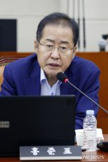 """홍준표 """"문재인 정권 붕괴, 더 빨리 올 것 같다"""""""