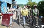 軍, 수해복구에 병력 1800여명 투입.. 의암댐 실종자 수색도 지원