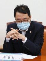 """野 """"文정권 여론조작 국정조사해야""""..윤영찬 '포털 압박 문자' 후폭풍"""