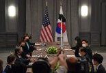 """정의용 """"美 대북정책 '현실적 방향'으로 결정..환영"""" [한미 외교장관회담]"""