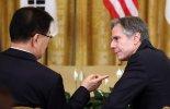 """블링컨 """"공은 북한 코트 위에 있어""""..외교적 해결 기대감"""