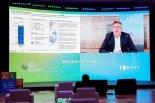 CIP 야콥 폴슨(Jakob Poulsen) 회장, '2021 P4G 서울 비즈니스 포럼' 주제 발표