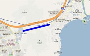 부산 송정터널 조명 교체공사 실시.. 28일부터 낮 시간 동안 교통통제