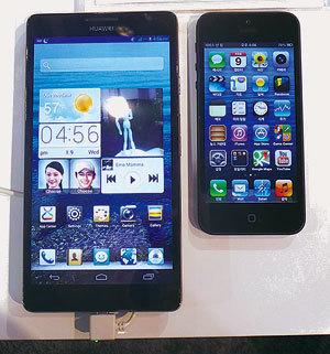 CES 2013 스마트폰의 굴욕..'찬밥 신세'