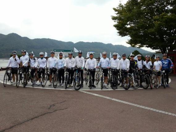 국립암센터 '암퇴치백만인클럽 주관 자전거 국토순례'