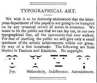 이것이 바로 최초의 이모티콘?.. 1881년 美 잡지에 실려