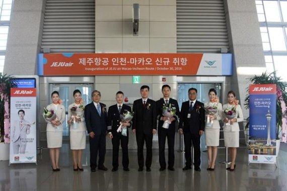 제주항공 인천-마카오 신규 취항