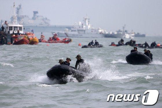 """""""세월호 구조활동하다 부상"""" 민간잠수사들 소송서 패소"""