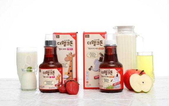 유아·어린이 위한 영양음료 '베이비오 더웰크톤'