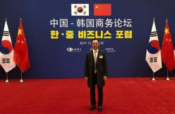 와이즈넛 강용성 대표, '문재인 대통령 경제 사절단' 참여