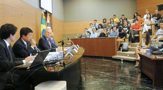 서기석 헌법재판관, 브라질 상파울루 법대 강연
