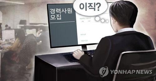 """직장인 10명중 7명 """"이직 후 후회할까 두려워 이직포기"""""""