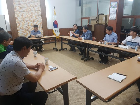 경남중기청, 전통시장 상인들과 간담회 개최