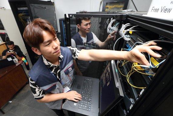 [사진] KT, 인도네시아에서 5G 서비스 선보인다