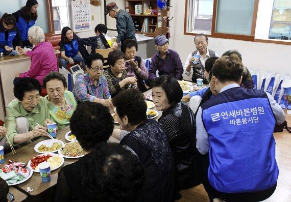 연세바른병원, '바른봉사단' 결성...추석맞이 봉사활동