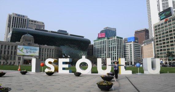 서울광장 스케이트장, 대기질 악화로 운영 중단