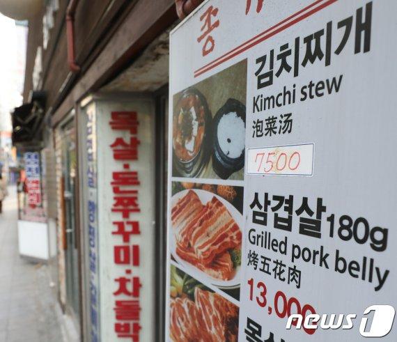 1500원대 김밥이 돌연 자취를 감춘 이유