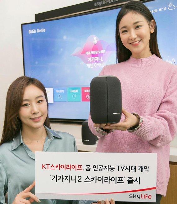 위성방송에 AI 결합 '기가지니2 스카이라이프'