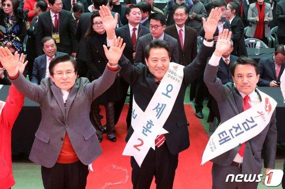 """황교안·김진태 """"文정권 적폐 특검으로""""…오세훈 """"선거로 심판"""""""