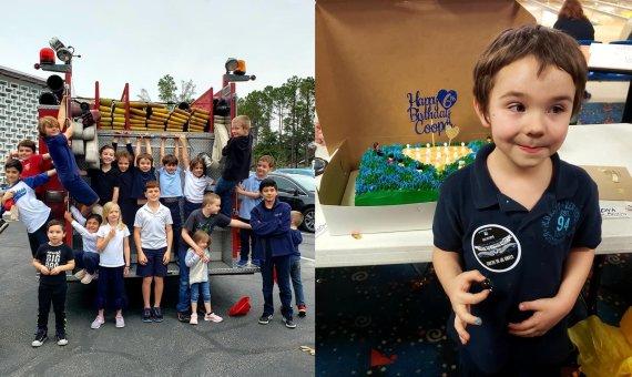 6살 자페아를 위한 소방서의 특별한 생일파티